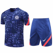 2020/21 CFC Blue Short Training Jersey(A Set)