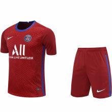 2020/21 PSG Red GK Fans Soccer Jersey(A Set)
