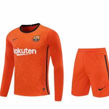 2020/21 BA Orange GK Long Sleeve Soccer Jersey(A Set)