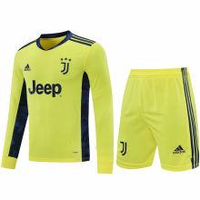 2020/21 JUV Yellow GK Long Sleeve Soccer Jersey(A Set)