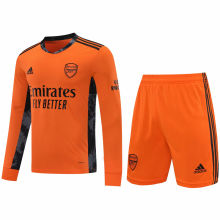 2020/21 ARS Orange GK Long Sleeve Soccer Jersey(A Set)