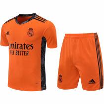 2020/21 RM Orange GK Soccer Jersey(A Set)