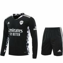 2020/21 ARS Black GK Long Sleeve Soccer Jersey(A Set)