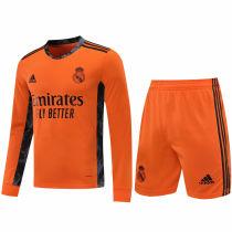 2020/21 RM Orange GK Long Sleeve Soccer Jersey(A Set)