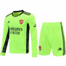 2020/21 ARS Green GK Long Sleeve Soccer Jersey(A Set)