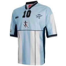 Maradona #10 Argentina Home Retro Soccer Jersey 2001有名有号