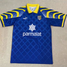 1995/97 Parma Away Blue Retro Soccer Jersey