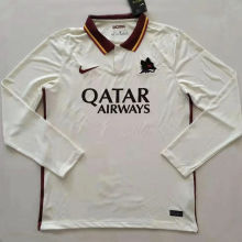 2020/21 RM Away White Long Sleeve Soccer Jersey
