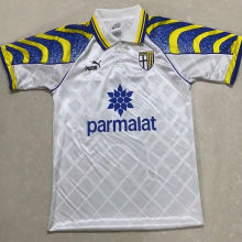 1995/97 Parma Away White Retro Soccer Jersey