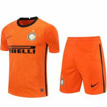 2020/21 In Milan Orange GK Soccer Jersey(A Set)