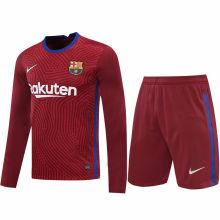 2020/21 BA Red GK Long Sleeve Soccer Jersey(A Set)