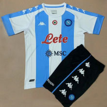 2020/21 Napoli Fourth Kids Soccer Jersey
