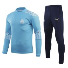 2020/21 Marseille Blue Sweater Tracksuit
