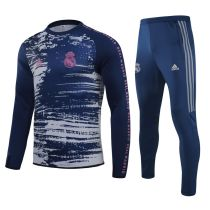 2020/21 RM Blue White Sweater Tracksuit