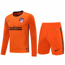 2020/21 ATM Orange GK Long Sleeve Soccer Jersey(A Set)