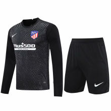 2020/21 ATM Black GK Long Sleeve Soccer Jersey(A Set)