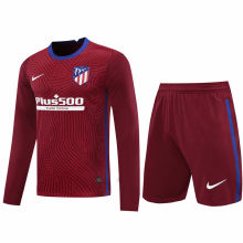 2020/21 ATM Red GK Long Sleeve Soccer Jersey(A Set)