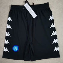 2020/21 Napoli Black Shorts Pants