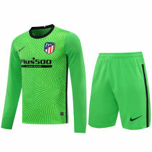 2020/21 ATM Green GK Long Sleeve Soccer Jersey(A Set)