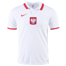 2021 Poland 1:1 Quality  Away White Fans Soccer Jersey