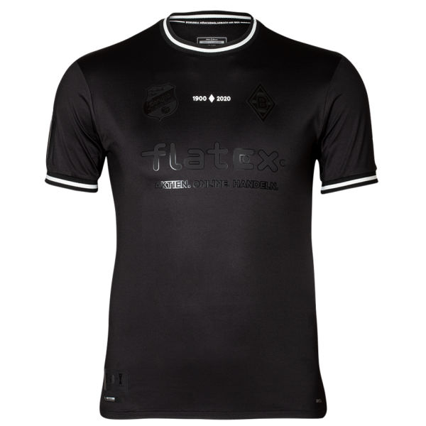 2020/21 Monchengladbach 120Th Commemorative Black Fans Soccer Jersey