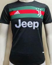 2020/21 JUV Black Classic Jersey  Player Version Jersey