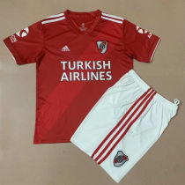 2020/21 River Plate Red Away Kids Soccer Jersey