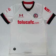 2020/21 Toluca Away White Fans Soccer Jersey
