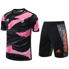 2020/21 JUV Pink Black Short Training Jersey(A Set)