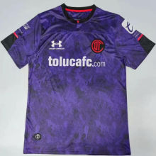 Copy 2020/21 Toluca Away Purple Fans Soccer Jersey