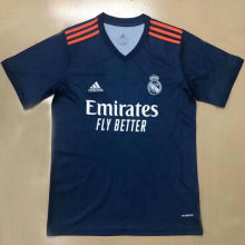 2021 RM Away Royal Blue Fans Soccer Jersey