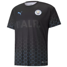 2020/21 Man City BALR Black Soccer Jersey