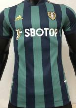 2020/21 Leeds United Green Player Soccer Jersey