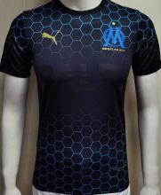 2020/21 Marseille BALR Black Player Soccer Jersey
