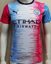 2020/21 Man City Contest Shirts Designed By Girl Player Soccer Jersey