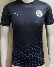 2020/21 Man City BALR Black Player Soccer Jersey