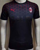 2020/21 AC Milan BALR Black Player Soccer Jersey