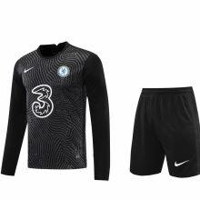 2020/21 CFC Black GK Long Sleeve Soccer Jersey(A Set)