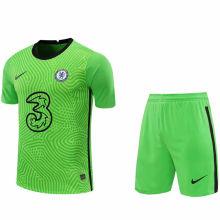 2020/21 CFC Green GK Soccer Jersey(A Set)