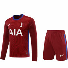 2020/21 TH FC Red GK Long Sleeve Soccer Jersey(A Set)