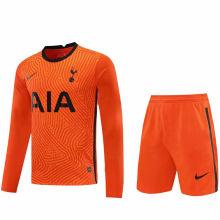 2020/21 TH FC Orange GK Long Sleeve Soccer Jersey(A Set)