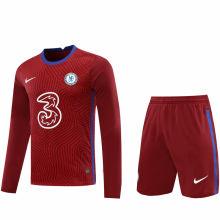 2020/21 CFC Red GK Long Sleeve Soccer Jersey(A Set)