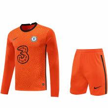 2020/21 CFC Orange GK Long Sleeve Soccer Jersey(A Set)