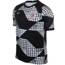 2021 Corinthians Fourth Black White Fans Soccer Jersey