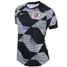 2021 Corinthians Fourth Black White Women Soccer Jersey