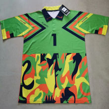J Campos #1 Green Retro Soccer Jersey (Have Name And Number 有名有号)绿色