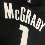 2021 Rockets Jordan McGrady#1 City Edition Black NBA Jerseys Hot Pressed