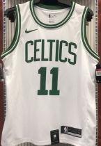 Celtics Irving #11 White NBA Jerseys Hot Pressed