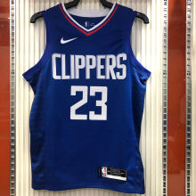 2021 Clippers WILLIAMS #23 Limited Edition Blue NBA Jerseys Hot Pressed