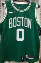 Celtics TATUM #0 Green NBA Jerseys Hot Pressed